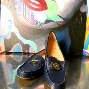 KATE SPADE NWT Navy blue loafers SIZE: 8.5